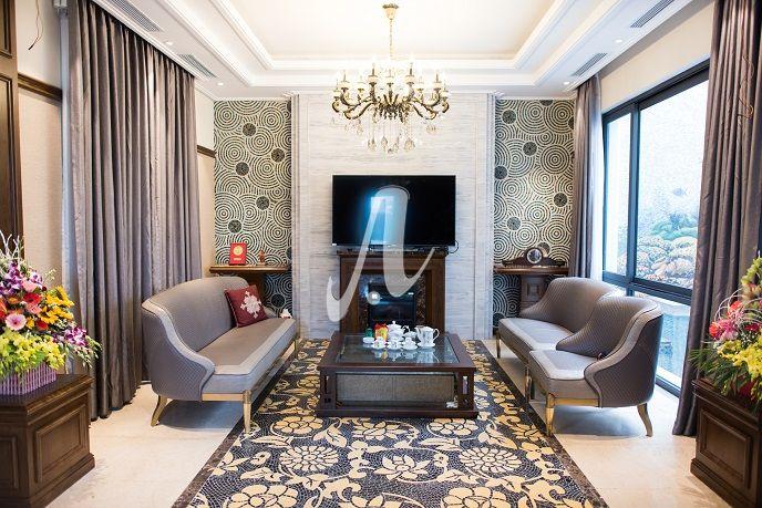 Tranh mosaic ốp tường phòng khách đẹp